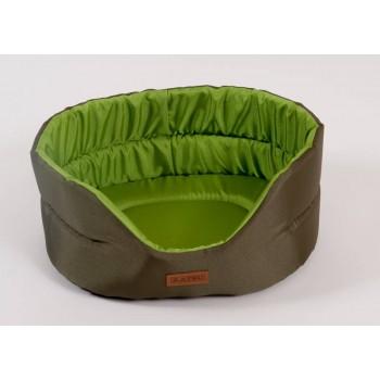 Katsu / Катсу CLASSIC SHINE 46х42х18 см лежак для животных хаки-зеленый