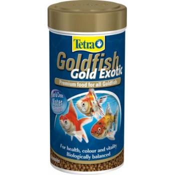 TetraGoldfish / Тетра Gold Exotic корм в шариках для экзотических золотых рыб 250 мл