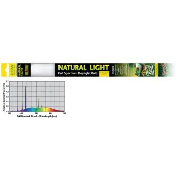 Exo Terra / Экзо Терра Лампа для террариума Т8 EX Natural Light former UVB2.0 25W. PT2377