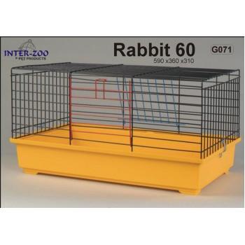 Iнтер-Zоо / Интер-Зоо Клетка д/кроликов KROLIK 590*360*310см (цветная) (G071)