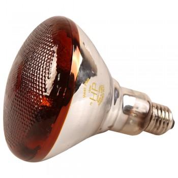Лампа инфракрасная 150 Bт JK Lighting, E27 BPAR38, прессованное стекло, рубин