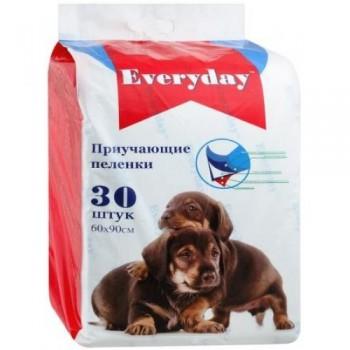 Everyday впитывающие пеленки для животных гелевые 30шт 60х90см