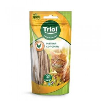 Triol / Триол Мягкая соломка из курицы для кошек, 40г