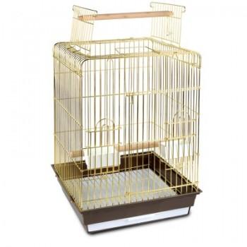 Triol / Триол Клетка 1038AG для птиц, золото, 475*475*860мм