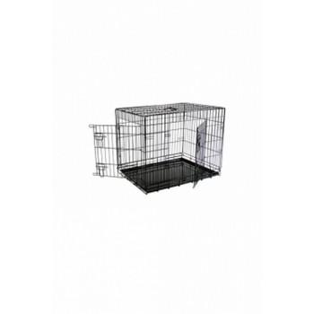 Papillon / Папиллон Клетка металлическая с 2 дверками, 76*54*61 см, черная