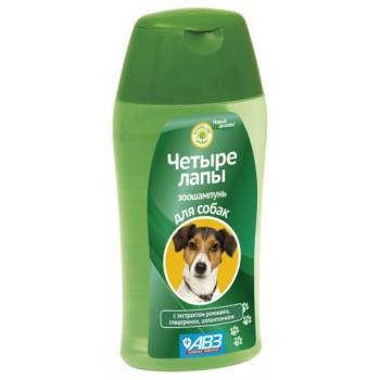 """Шампунь """"ЧЕТЫРЕ ЛАПЫ"""" для ежедневного мытья лап у собак 180 мл"""