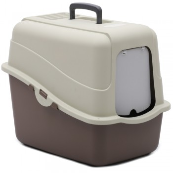 Petmode Туалет-домик Solitude Range 48х38х43, коричневый