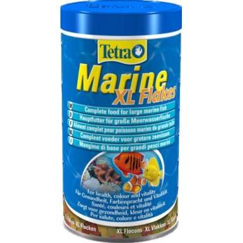 TetraMarine / Тетра XL Flakes корм для морских рыб крупные хлопья 500 мл