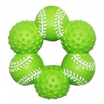 """Ziver / Зивер Игрушка """"Кольцо из мячей зеленое"""", 10 см"""