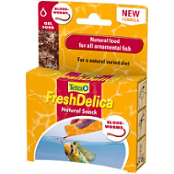 TetraFreshDelica / Тетра Bloodworms корм мотыль в желе 48 г
