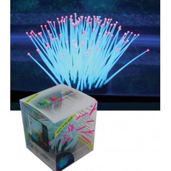 Jelly-Fish / Джелли-Фиш Морской анемон разноцветный, светящийся в темноте, средний, 5,5*5,5*11 см