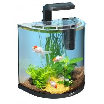 """Tetra / Тетра AquaArt Goldfish 30 л - аквариумный комплекс """"Полумесяц"""""""