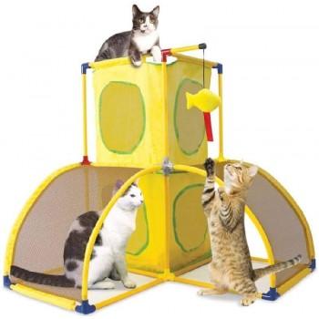 "Kitty City Игровой комплекс для кошек: Версаль. ""Kitty Play Palace"": 70*70*70см (sp0364)"