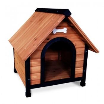 Triol / Триол Будка 1010M деревянная для собак, 760*880*810мм