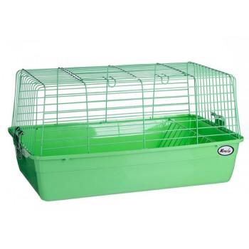 Kredo R1 Клетка д/кроликов 59*35,5*31,5см с кормушкой д/сена (Подарочная упаковка)