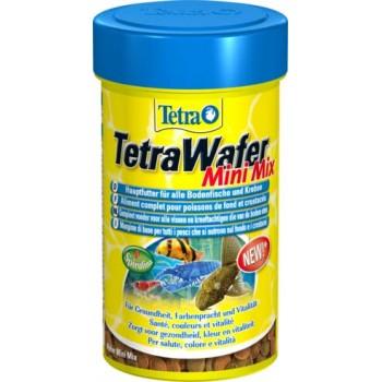 TetraWaferMix / Тетра Mini корм в Мини-чипсах для всех мелких донных рыб 100 мл
