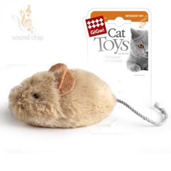 GiGwi 75217 Мышка со звуковым чипом