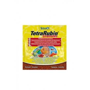 TetraRubin / Тетра Granules корм в гранулах для улучшения окраса всех видов рыб 15 г (sachet)