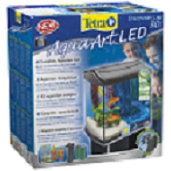 Tetra / Тетра AquaArt LED Goldfish аквариумный комплекс 30 л с LED освещением