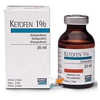 Кетофен (Merial) 1% нестероидное противовоспалительное средство флакон 20 мл