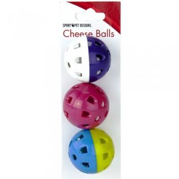 "Kitty City Игрушка для кошек ""Сырные шарики"" (Cheese balls)"