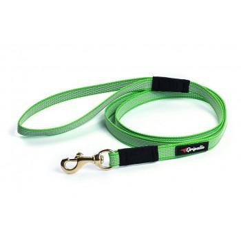 Gripalle / Грипэлле 18-150G 4213 Поводок нейлоновый прорезиненный для собак, фурнитура из латуни 18 мм*150 см, Салатовый