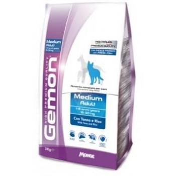 Gemon / Гемон Dog Medium корм для собак средних пород тунец с рисом 15 кг