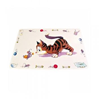 """Trixie / Трикси Коврик под миску """"Comik Cat"""" 44*28см 24544"""