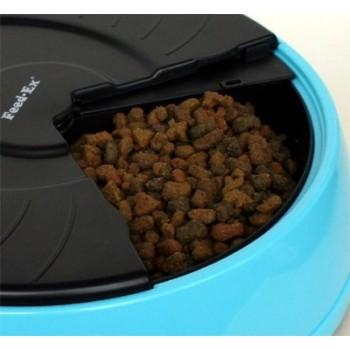 Feedex / Фидекс Автокормушка на 4 кормления для 1,-1,2кг корма Голубая PF2B