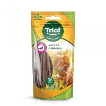 Triol / Триол Мягкая соломка из утки для кошек, 40г
