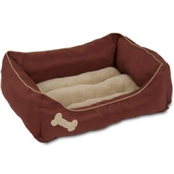 Petmate / Петмейт Лежак для кошек и собак, с мягкими бортиками, прямоугольный, 53х63 (см)