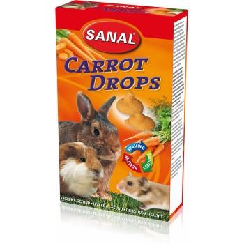 Sanal/Санал д/грызунов дропсы Морковные 45гр (7550)