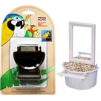 Penn-Plax / Пен-Плакс Кормушка для птиц внутренняя с Зеркалом ВА503