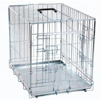 Karlie-Flamingo / Карли Фламинго Клетка для собак 2 двери 63*43*49 см