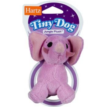 Hartz / Хартц Игрушка д/собак - Африканское животное, мягкая, маленькая Tiny Dog Jungle Plush Dog Toy