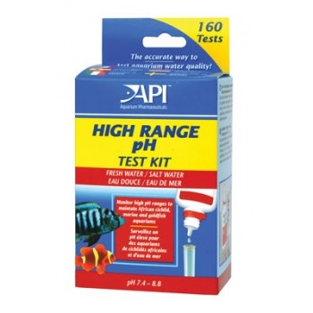 API / АПИ Хай Рандж рН Тест Кит - набор для измерения уровня pH в пресной и морской воде Hige Range pH Test Kit
