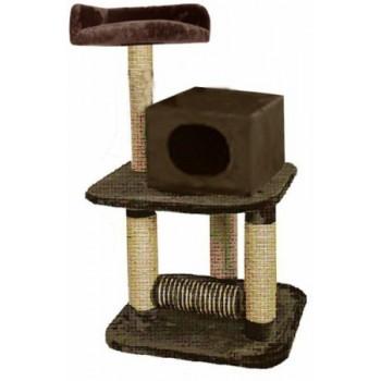 FAUNA INT / Фауна Интернешнл BUERE Игровая площадка для кошек коричневая . FICP-119-0200