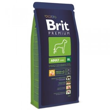 Brit / Брит Premium Adult XL для взрослых собак гигантских пород, 18 кг