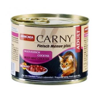 Animonda Carny Adult конс. 200 гр. коктейль из разных сортов мяса для взрослых кошек 83493 -83550