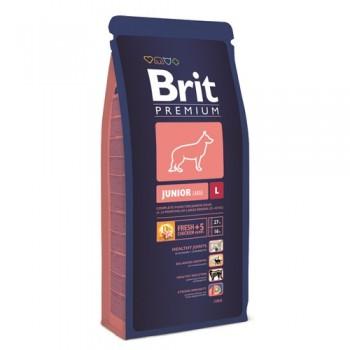 Brit / Брит Premium Junior L для молодых собак крупных пород, 18 кг