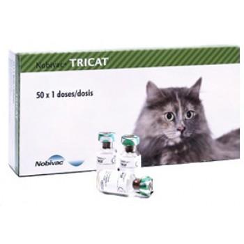 Нобивак (Intervet) Tricat Trio вакцина для кошек 1 доза/растворитель Нобивак Diluent
