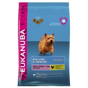 EUKANUBA / Еукануба Dog корм для пожилых собак мелких пород 1 кг