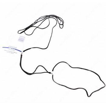 Show Tech нейлоновая ринговка 1,5 мм круглая черная
