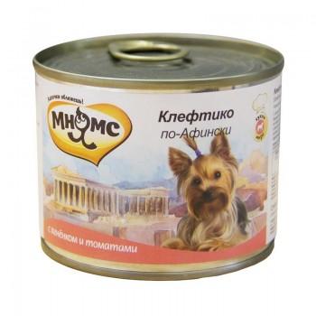 Мнямс консервы для собак Клефтико по-Афински (ягненок с томатами) 200 г