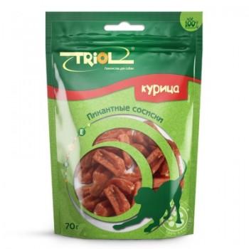 Triol / Триол Пикантные сосиски из курицы для собак, 70г