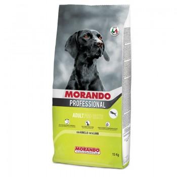 Morando / Морандо Professional Cane сухой корм для взрослых  собак с повышенной массой тела PRO TASTE с ягненком, 15 кг