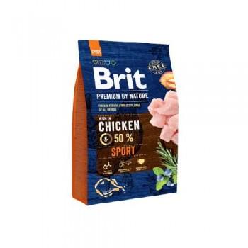 Brit / Брит Premium By Nature Sport д/взрослых собак с высокими затратами энергии 3 кг