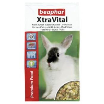 Beaphar / Беафар Корм «Xtra Vital Junior Rabbit» д/молодых кроликов, 1кг