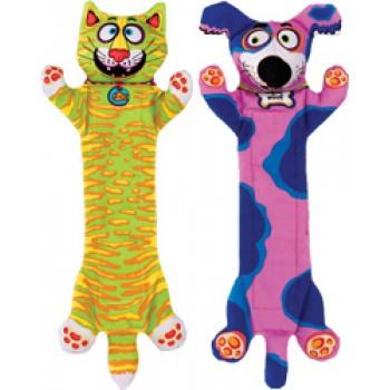 Fat Cat Игрушка д/собак - Перетяжка, прочная, маленькая, мягкая,, Flip Flop Yankers Dog Toy (660344)