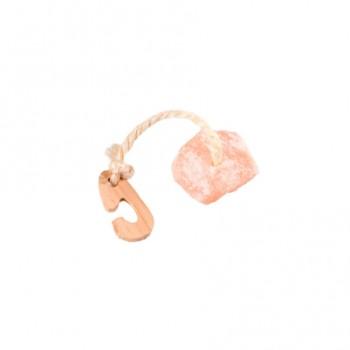 Karlie-Flamingo / Карли Фламинго Игрушка-камень д/грызунов натур. дерево+гималайская соль 60г